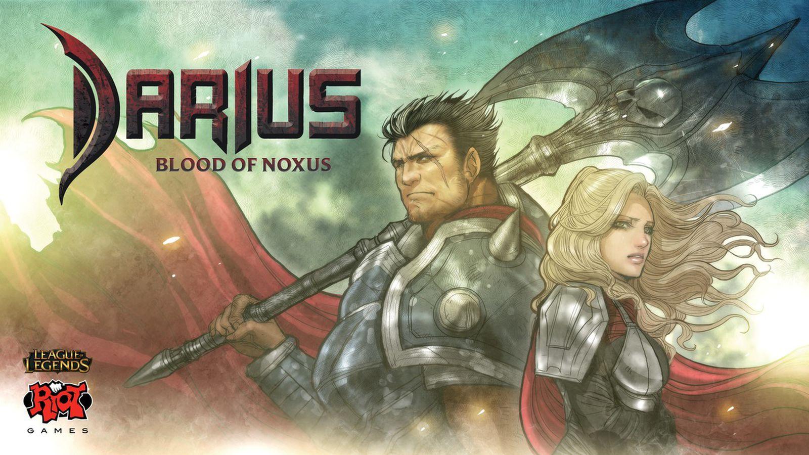 Darius' story revealed in Blood of Noxus comic
