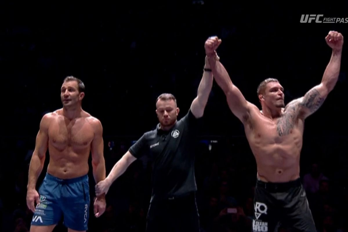Polaris 12 results: Luke Rockhold drops decision in grappling debut