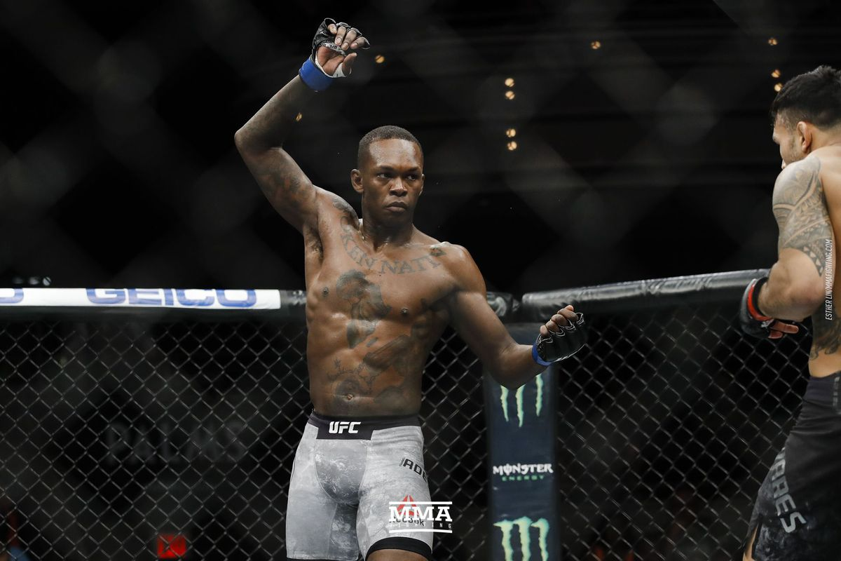 Israel Adesanya wants to 'embarrass' Paulo Costa, considers Jared Cannonier second-most dangerous middleweight