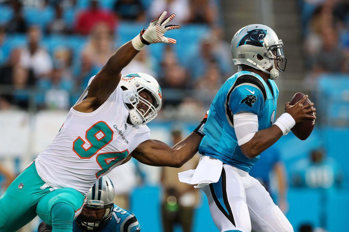 NFL: Miami Dolphins at Carolina Panthers