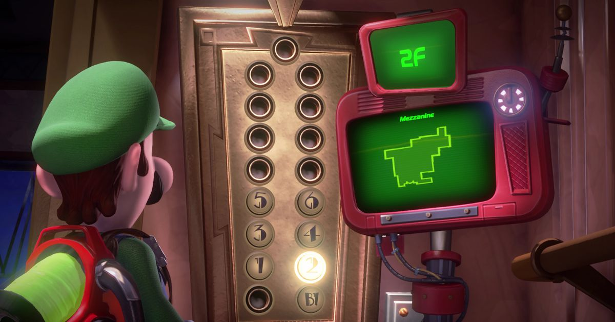 Luigi S Mansion 3 2f Gem Locations Guide And Maps Polygon