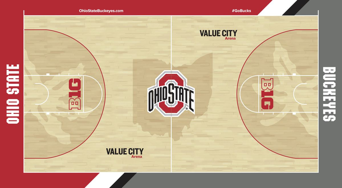 Ohio design  State basketball crowdsources court by new