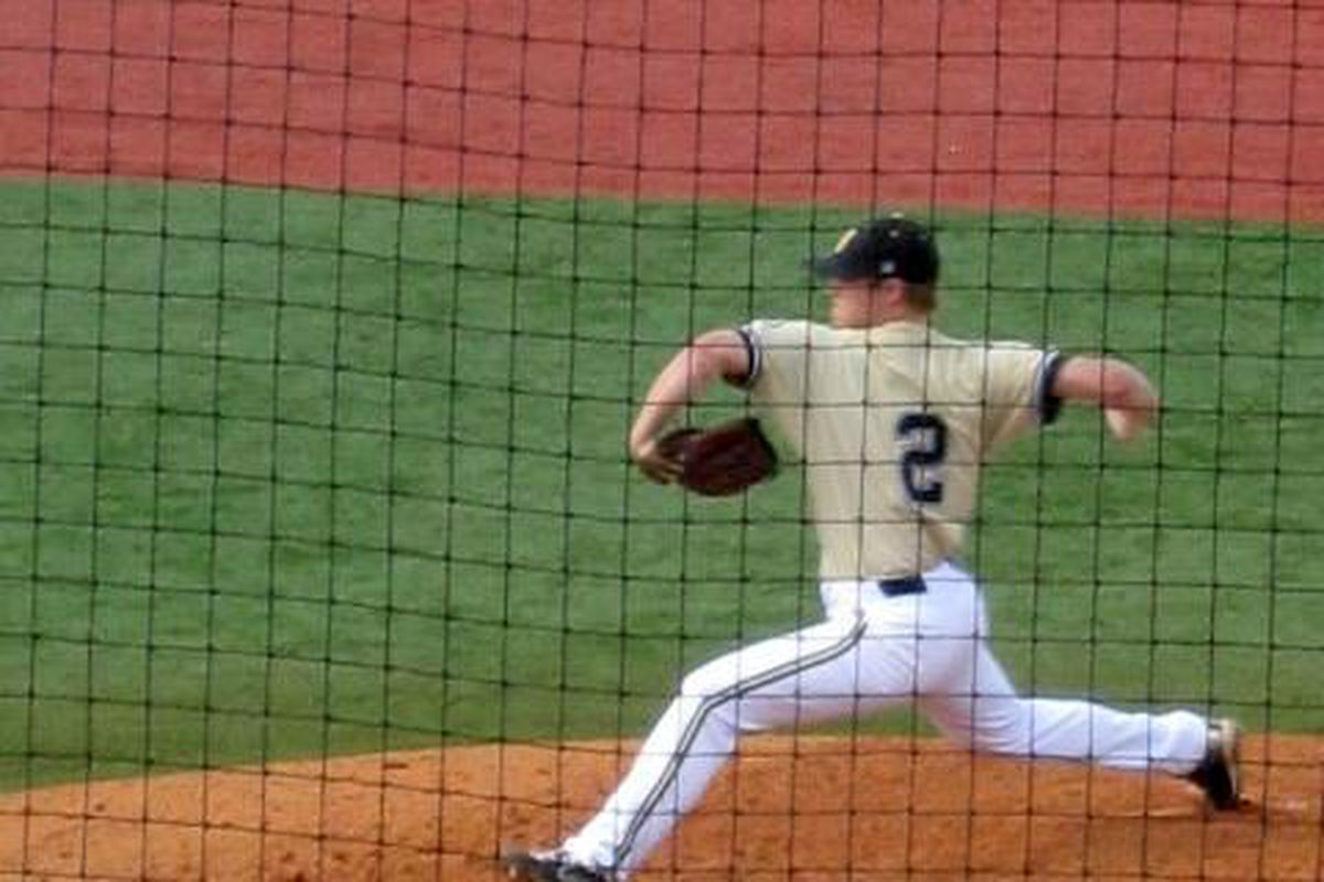 Sonny Gray allowed just two runs in 6 innings against FSU, despite an extremely tight strike zone.