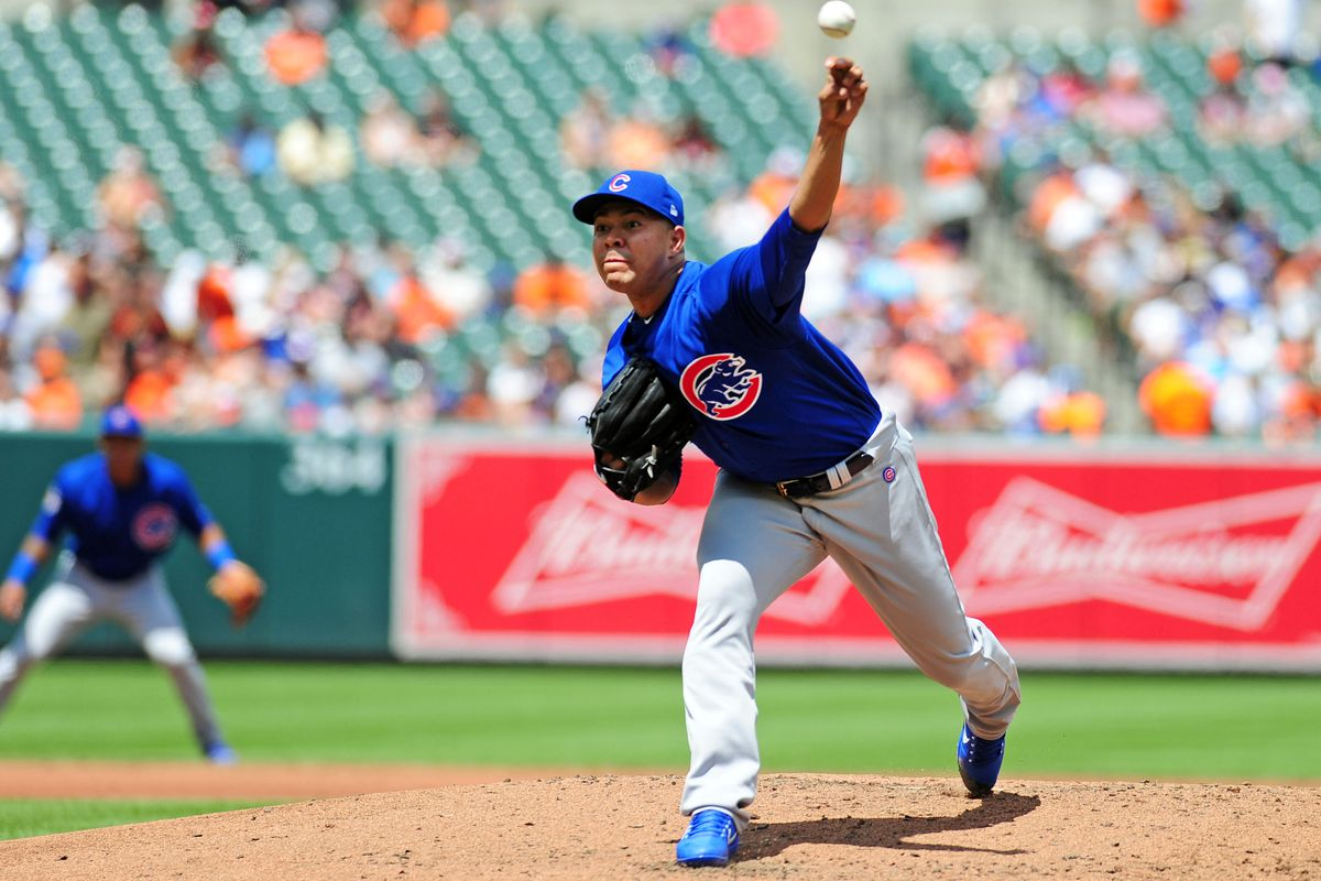 MLB: Chicago Cubs at Baltimore Orioles