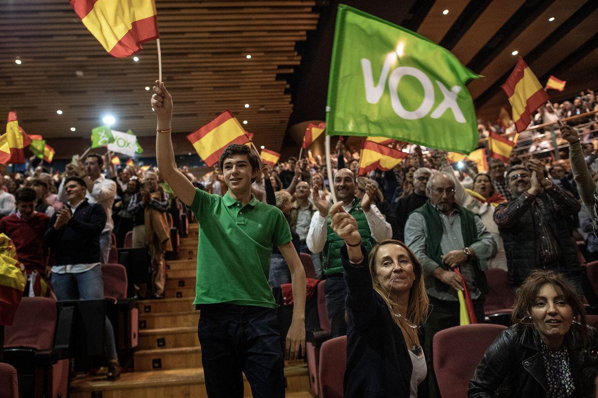 VOX Rally In Granada.