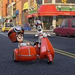 Wacky 'Mr  Peabody and Sherman' makes history fun - Deseret News