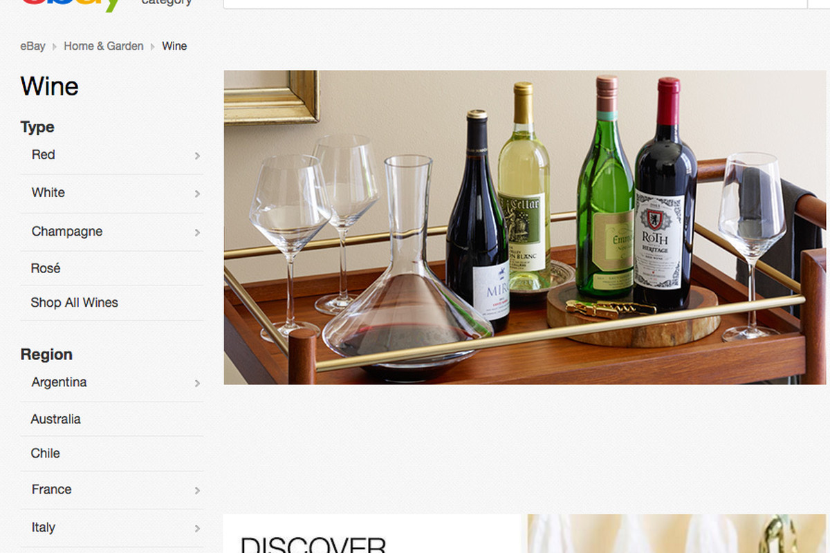 Wine Now Has a Home on eBay - Eater