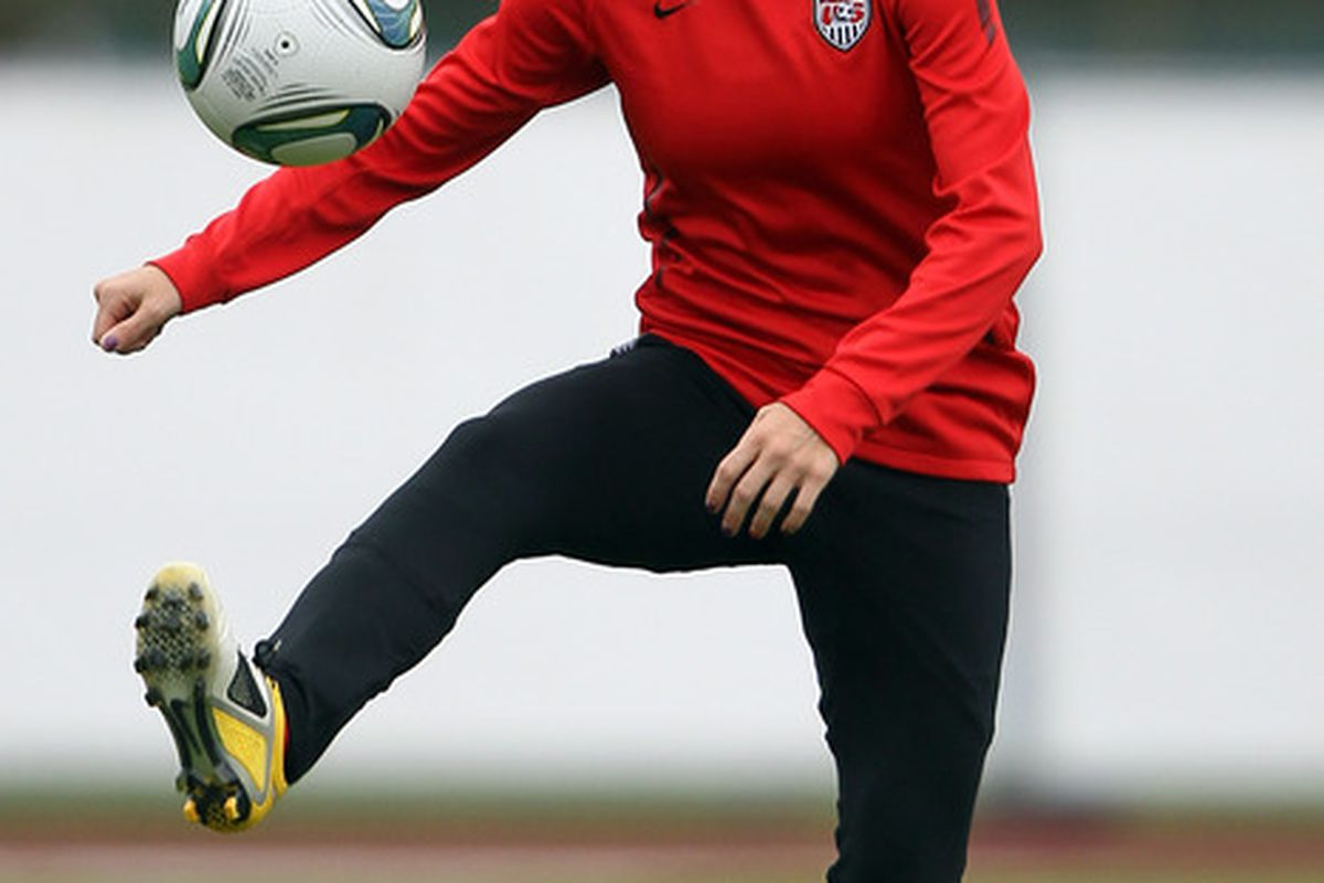 Megan Rapinoe is the fourth United States international to sign with the Sounders Women this offseason.
