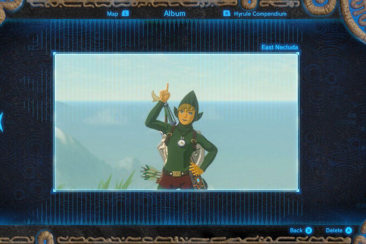 Tingle's Fairy Clothes in Zelda: Breath of the Wild