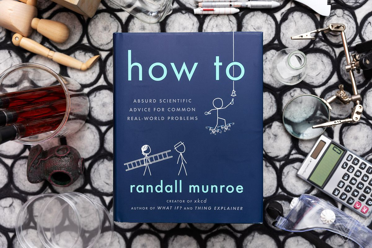 XKCD's Randall Munroe on his new book How To and the joys of