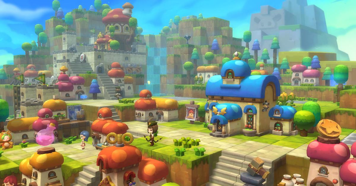 Maplestory 2 Is Nothing Like The Original Game And That S