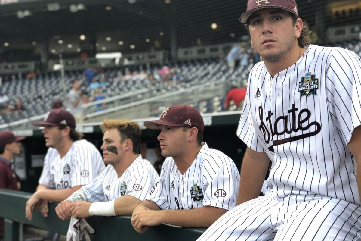 mississippi state baseball to face north carolina in game two of cws