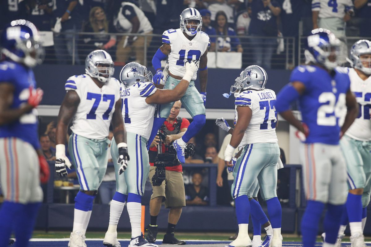 a9f8db06 PFF ranks Cowboys offensive line in Top-5, which shows tremendous ...