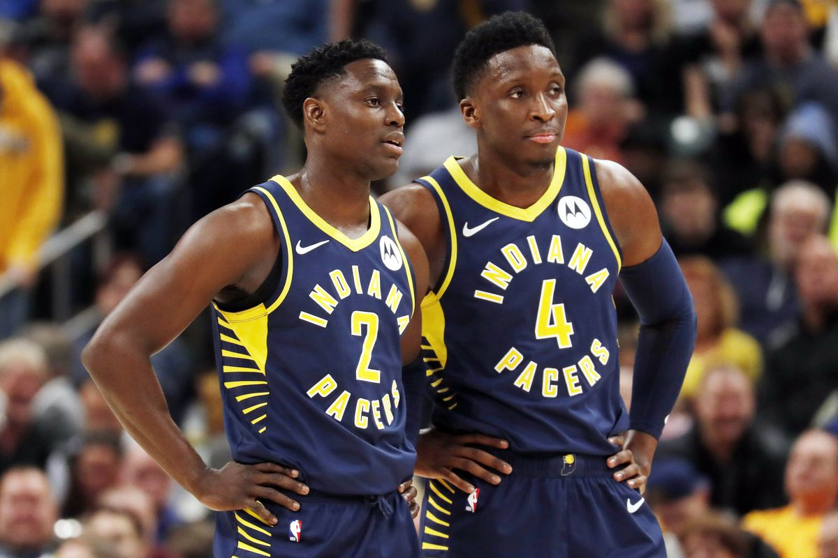 on sale c81d3 8b760 Indiana Pacers free agency: How do they get Victor Oladipo ...