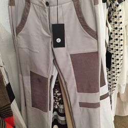 Leather pants, $75