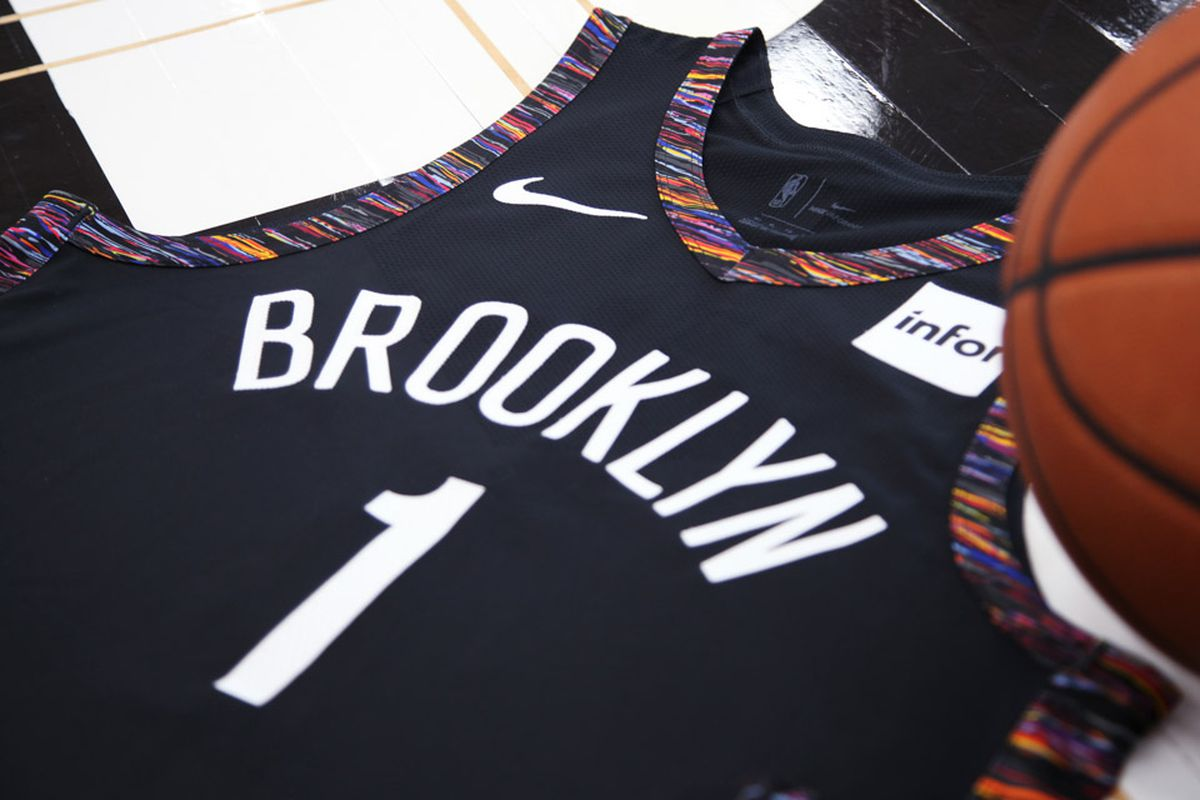 brand new 5cbbc 9bd00 Nets introduce Coogi-style City Edition jerseys ... and an ...