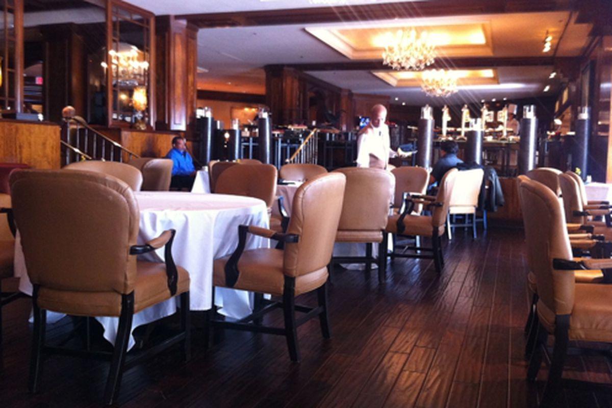 The Cafe at the Ritz-Carlton, Buckhead.