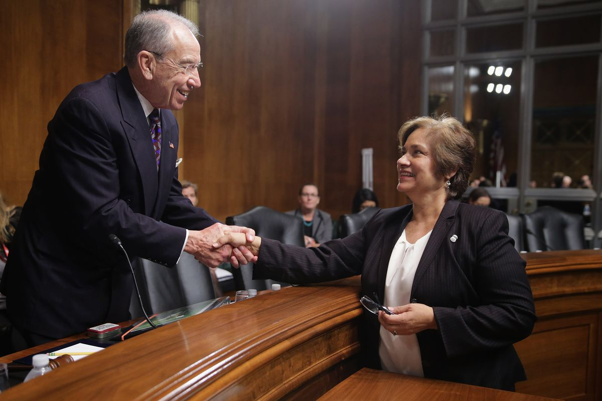 Sen. Chuck Grassley is leading the charge on the criminal justice reform bill.