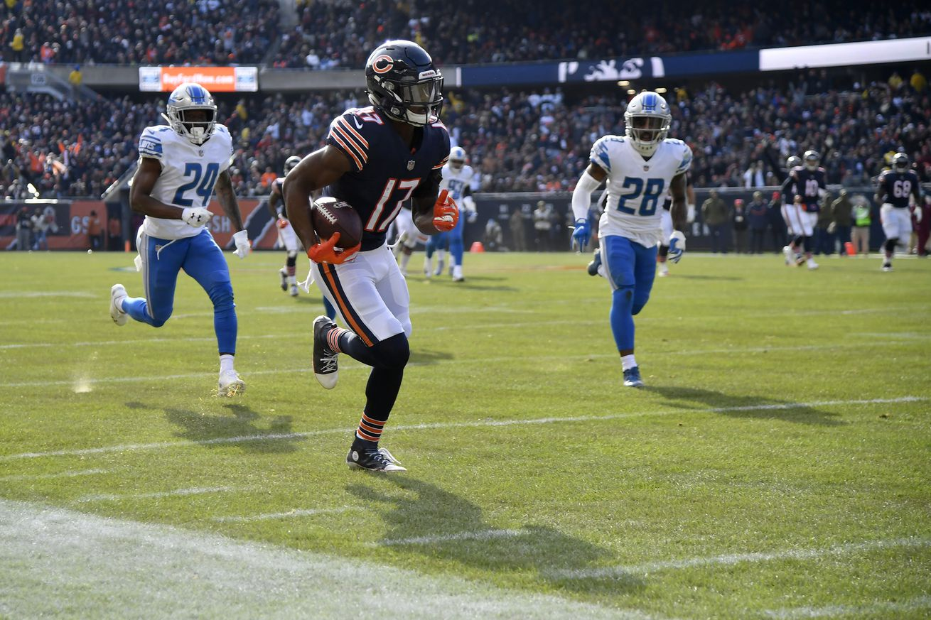Anthony Miller ran wild against the Lions, could be Rookie of the Week