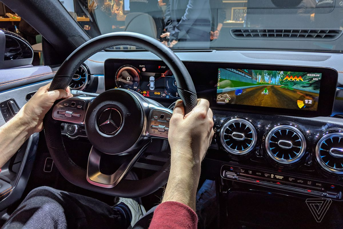 I Used A Mercedes Benz As A Mario Kart Controller And It