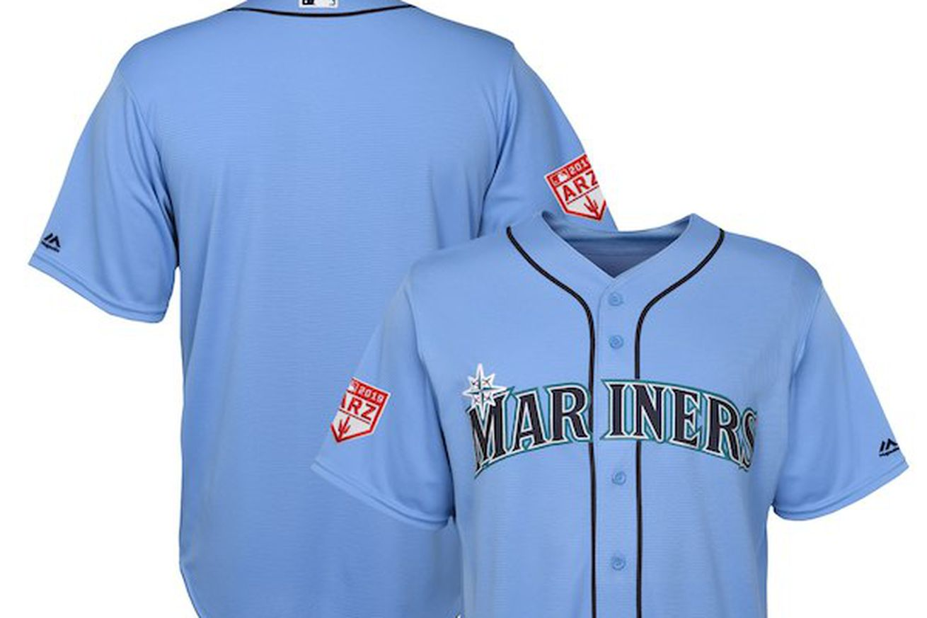 Mariners.0 - The Mariners are getting a new powder blue uniform look for spring training