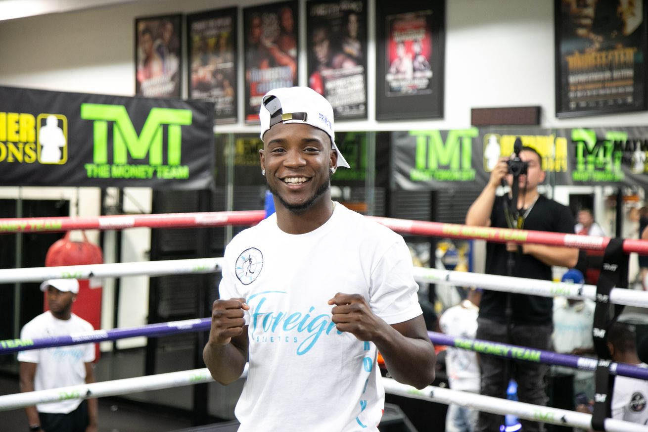Fight Week Media Workout 06 23 2019 Workout Leo Wilson   Premier Boxing Champions.0 - Colbert, Ramos pick up prelim wins on FOX
