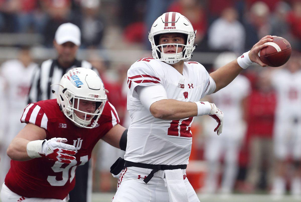 NCAA Football: Wisconsin at Indiana