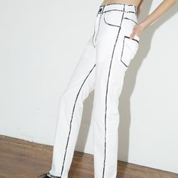 69 white painted jeans, $230 at Assembly New York (were $574)