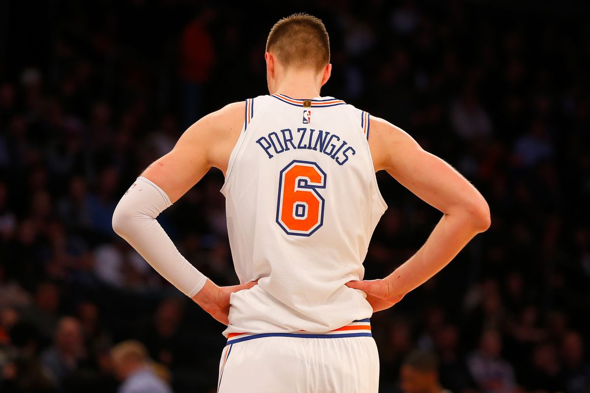 Knicks' Kristaps Porzingis wants an All-Star spot
