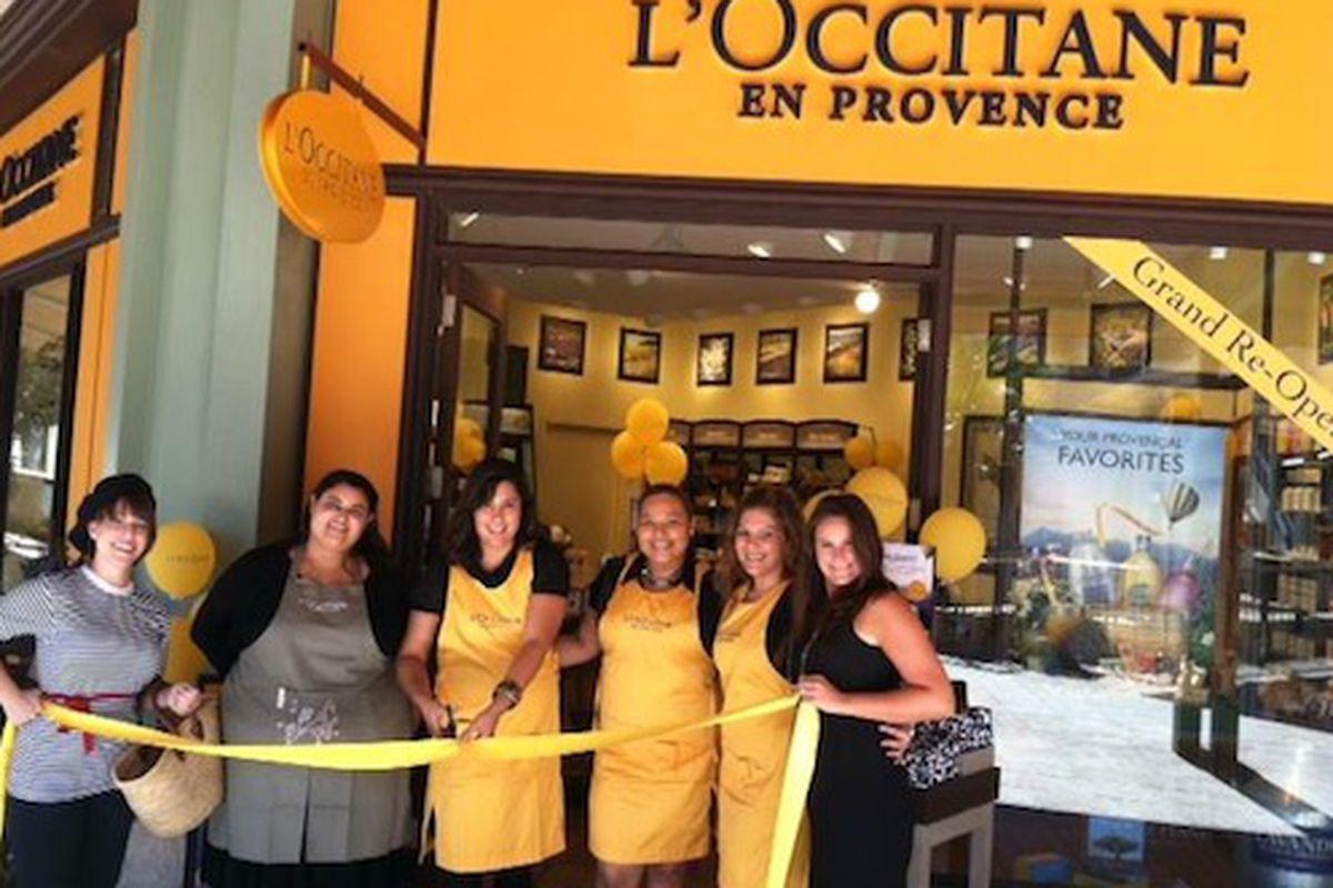 "The L'Occitane en Provence store's grand reopening at Merrick Park/Image Via <a href=""https://www.facebook.com/loccitane.usa"">Facebook</a>"
