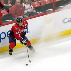 Ovechkin Stops With Puck