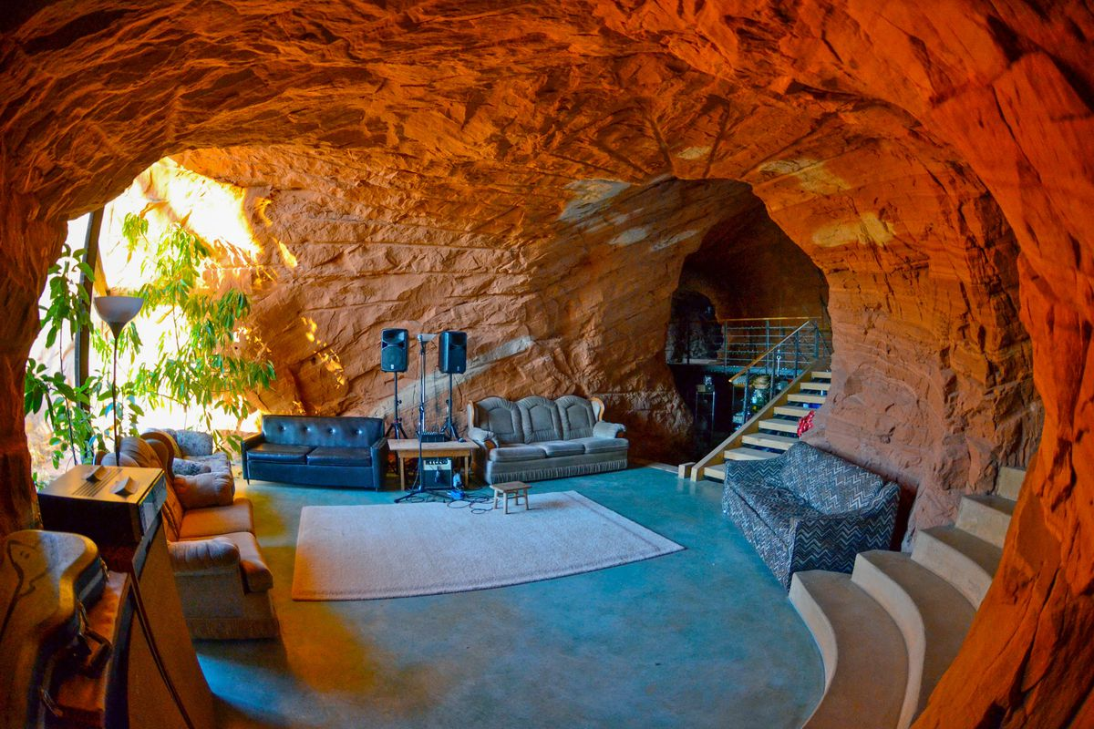 A cave in Utah has made Airbnb's list of unique roadside stays in the United States.