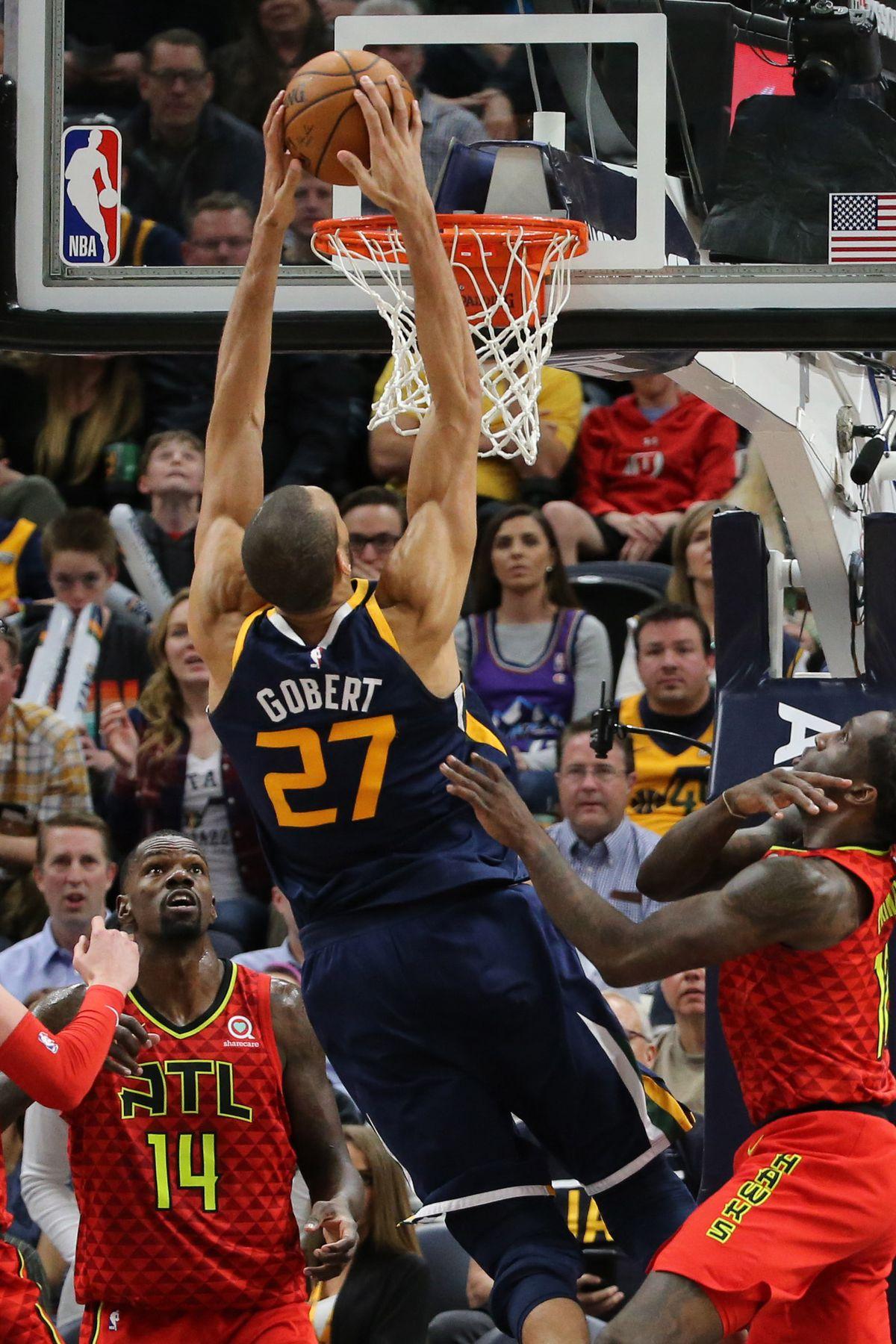 NBA: Atlanta Hawks at Utah Jazz