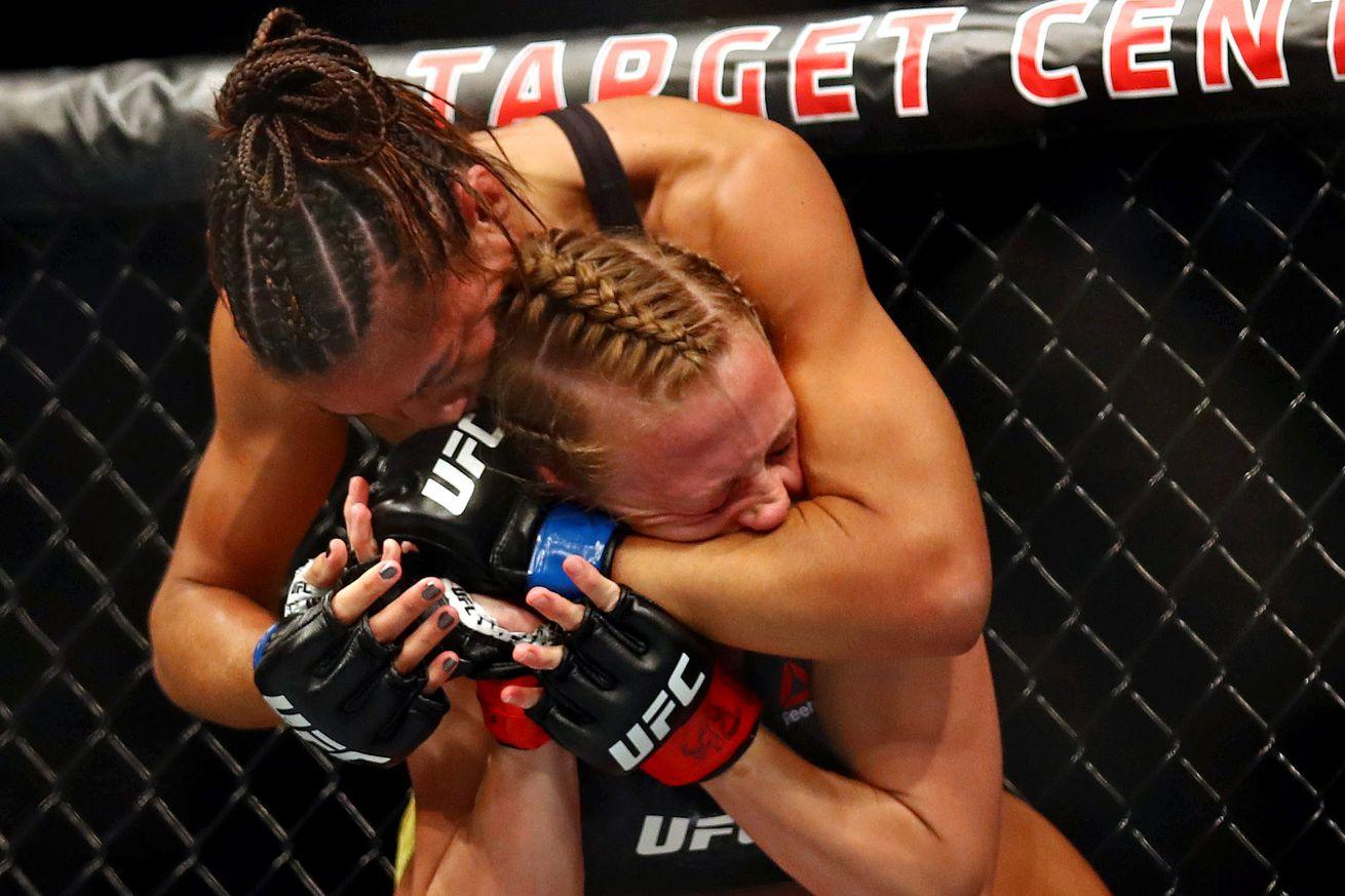 MMA: UFC Fight Night-Minneapolis-Whitmire vs Ribas