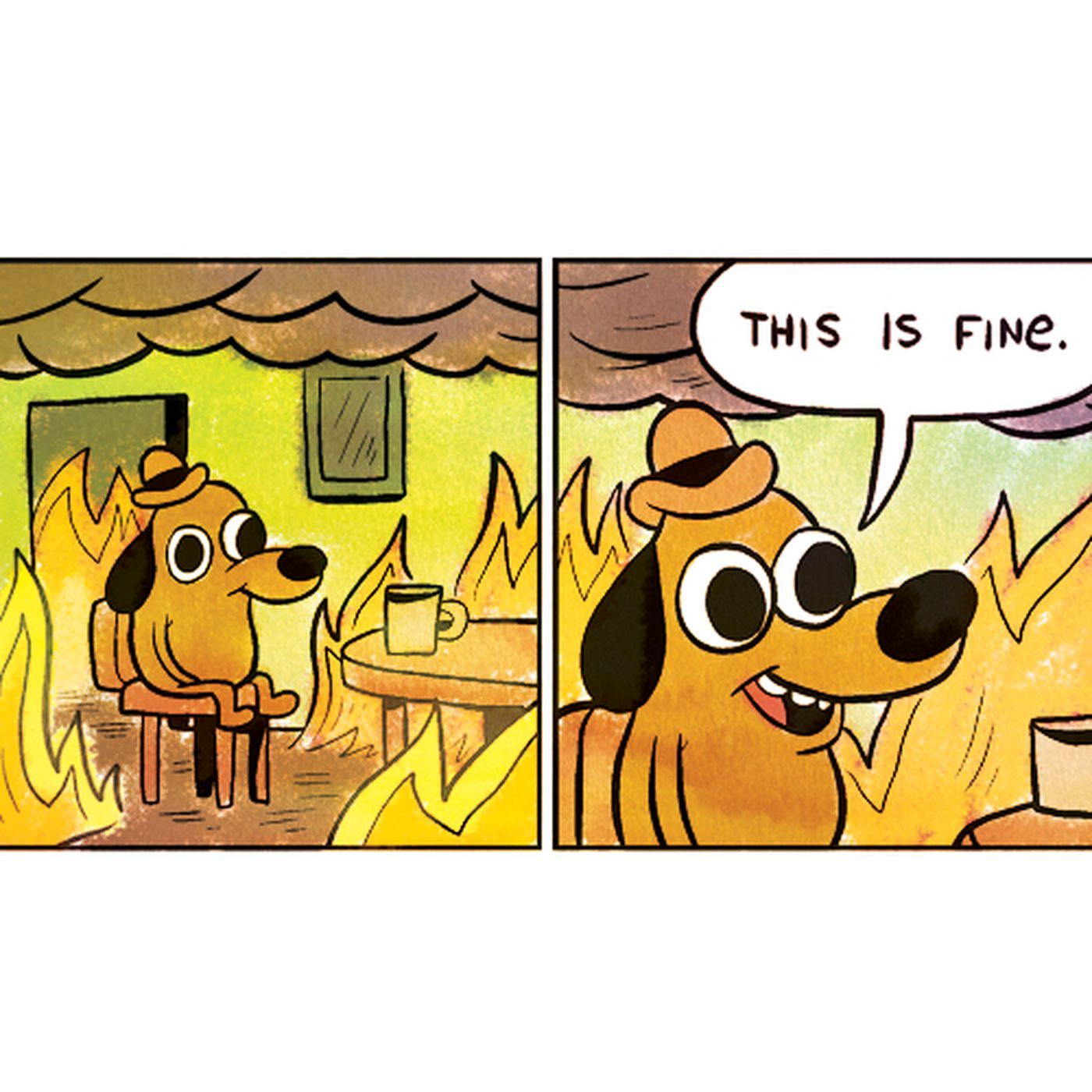 This Is Fine Creator Explains The Timelessness Of His Meme The Verge