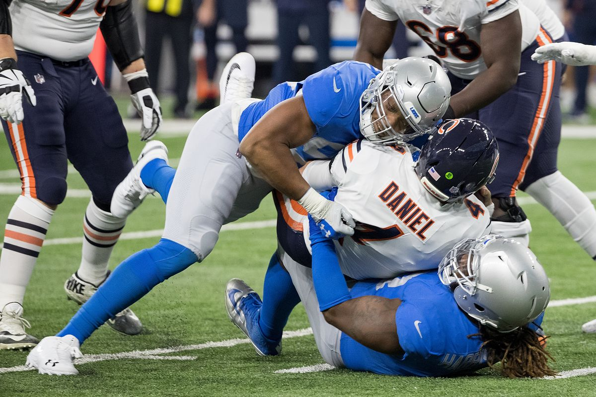 check out 6bbd7 5778e Grading the Detroit Lions 2019 post-draft roster: Defense ...