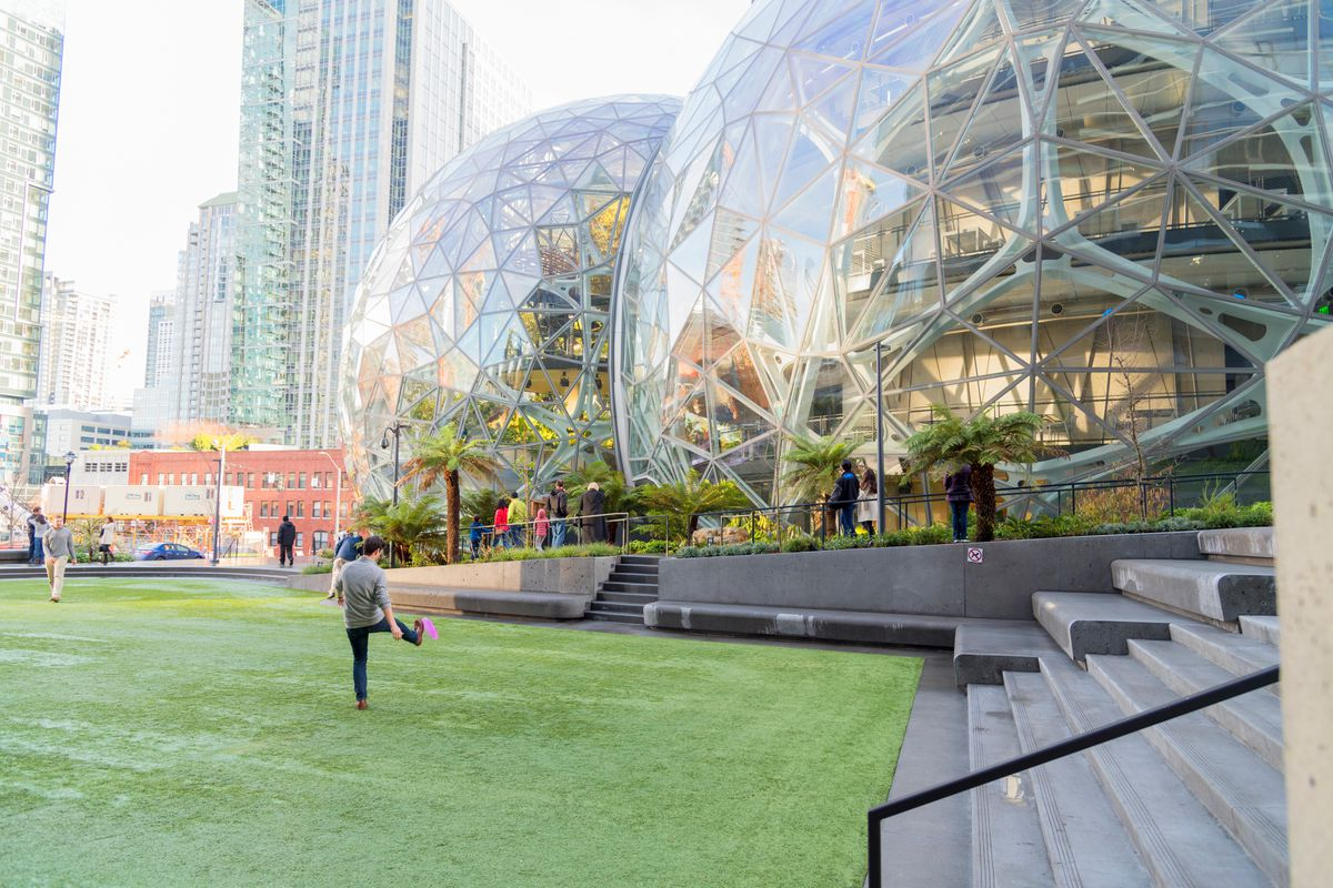 Image result for amazon building