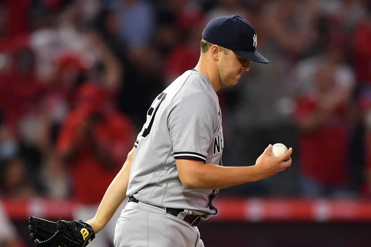 New York Yankees v Los Angeles Angels