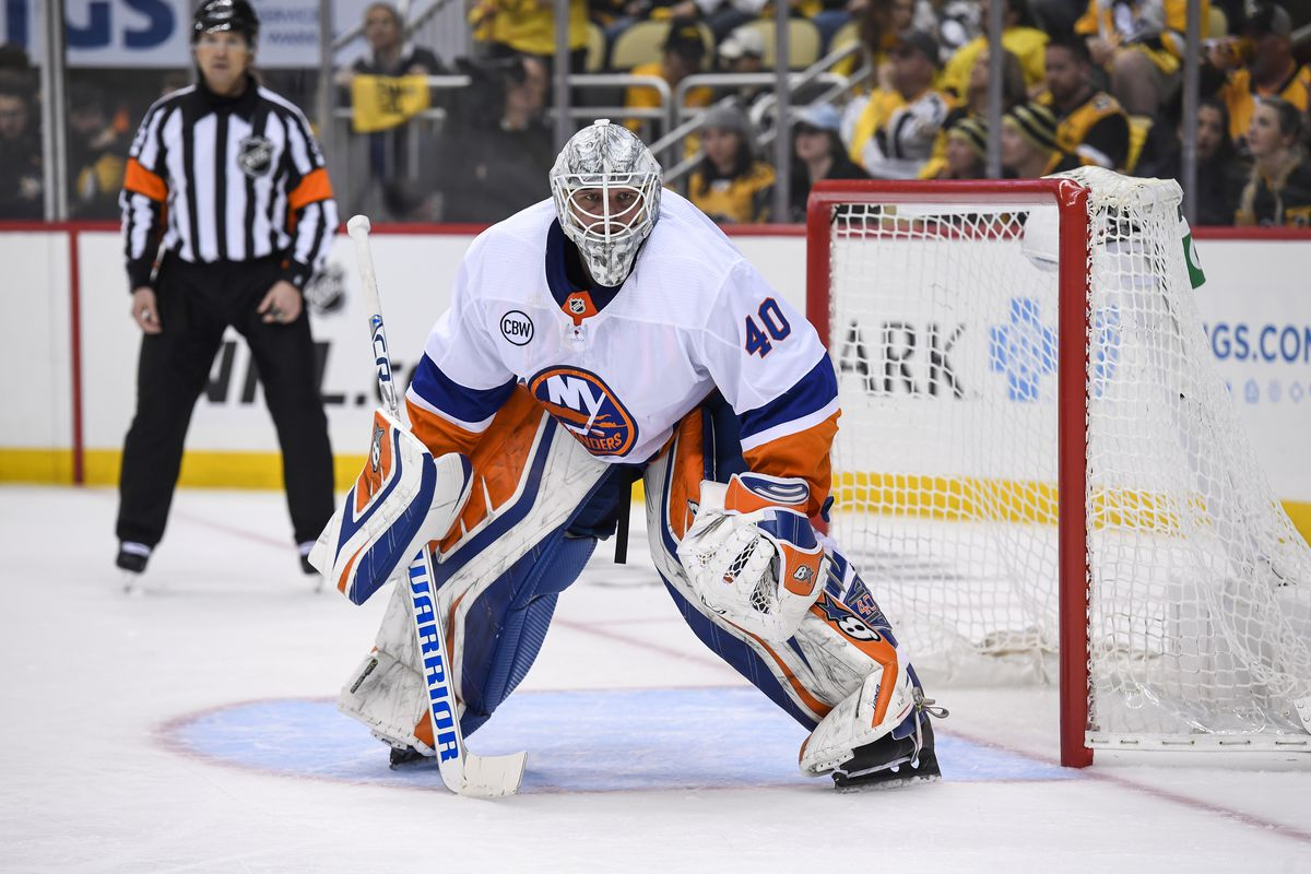 NHL: APR 14 Stanley Cup Playoffs First Round - Islanders at Penguins
