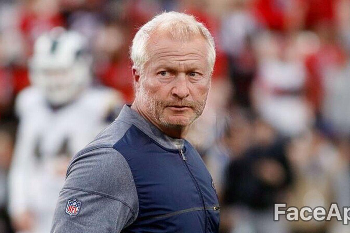 Your favorite Los Angeles Rams...as Grandpas. FaceApp's finest