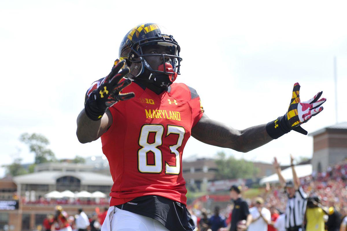 NCAA Football: Richmond at Maryland