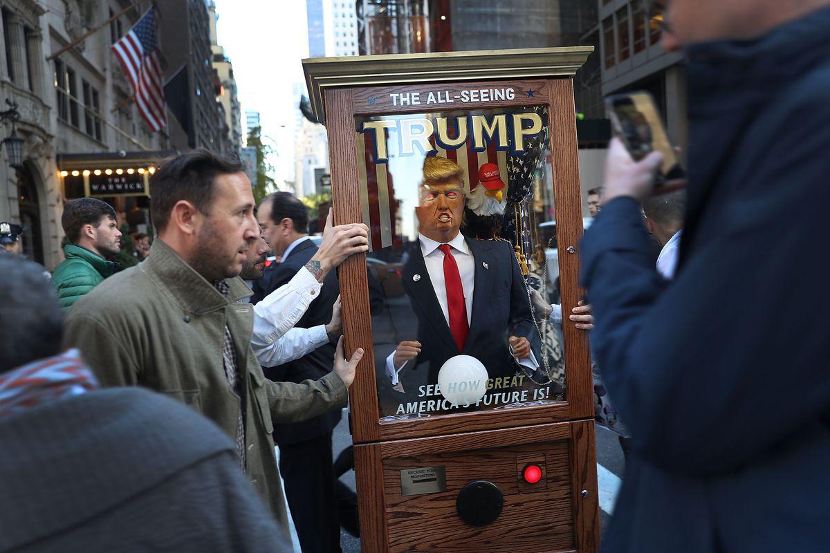 Trump Campaign Prepares For Election Night Event