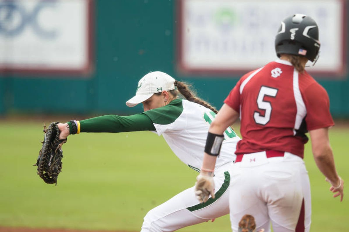 It was deja vu in the second game of a double header on Saturday as softball had their season ended by South Carolina.