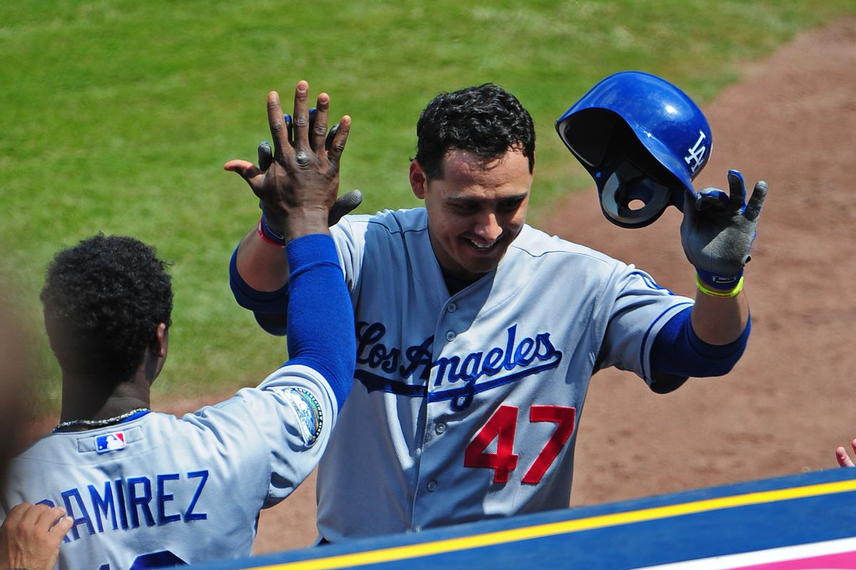 A tip of the cap for Luis Cruz, who had the best week of his career, and is now hitting .286/.329/.474 in 38 games this season.
