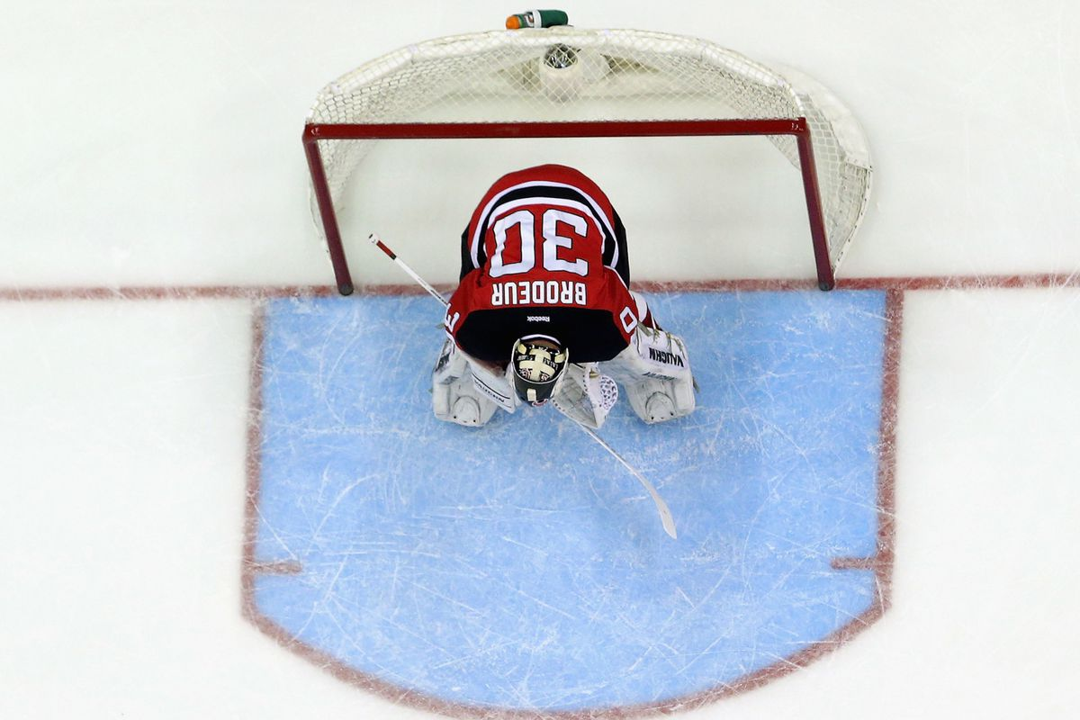 Martin Brodeur - in the crease 39 times for the Devils this season. Yes, 39.