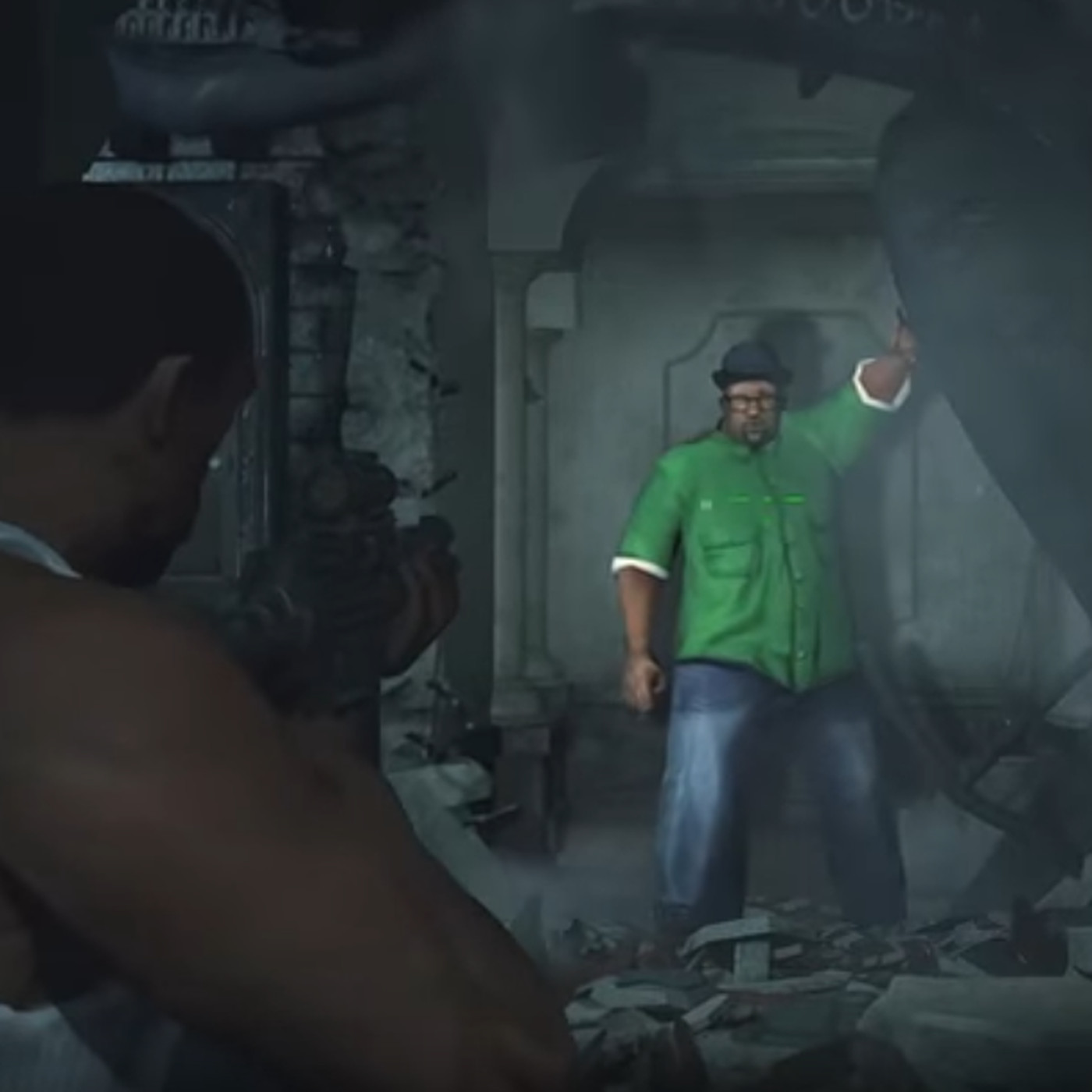 Latest Resident Evil mod brings in GTA: San Andreas' C J