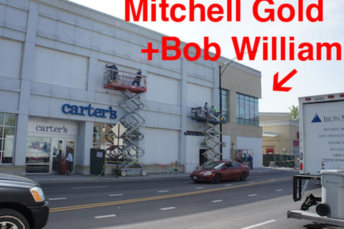 Mitchell gold bob williams to open at north clybourn for M furniture warehouse chicago