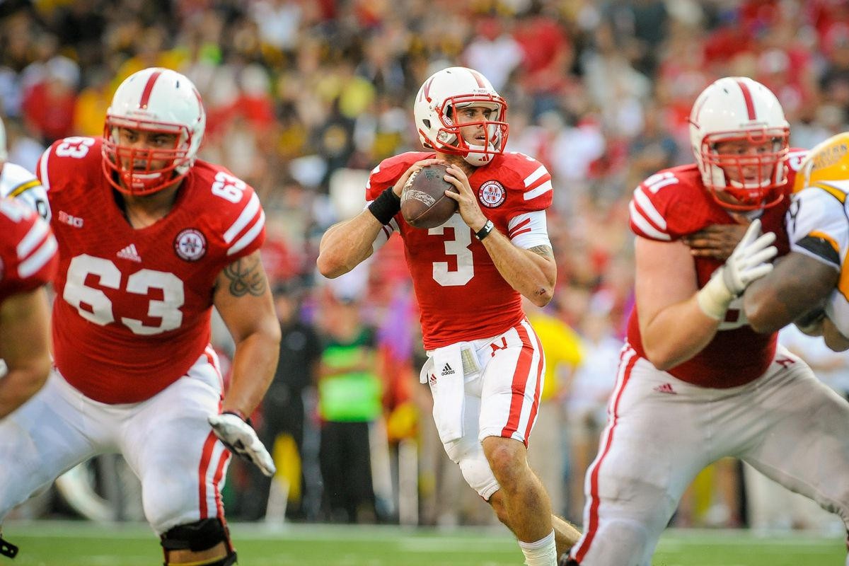 Taylor Martinez leads Nebraska in today's marquee B1G game against UCLA