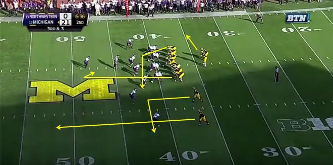 FF - Northwestern - Williams - 13-Yard Hitch - 1