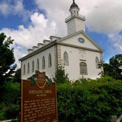 Kirtland Temple, in Kirtland, Ohio, in July 2001.